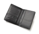 Custom personalized multifunction document organizer men wallet rfid family card passport holder leather travel wallet