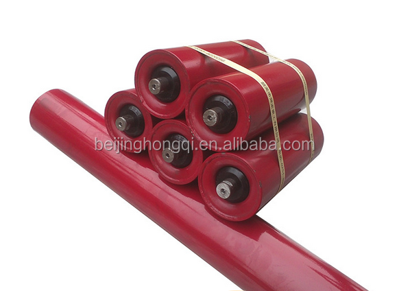 Industrial steel conveyor tube roller