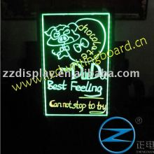 LED neon marker writing-on menu board glass