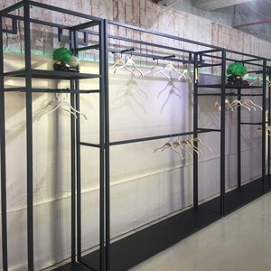 High Level Modern Style Used Retail Clothing Store Display Racks For Sale