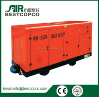 Safe MLGF6/7-37G Coal Mining Portable Wind Cooling Screw Air Compressor
