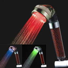 C-158-1LED water filter hydroelectric power shower head