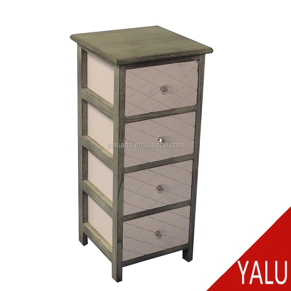 2016 New Design Living Room Furniture Wood Cabinet Corner With 4 Drawers For Household H 16005