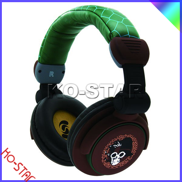 High quality On-ear Soloed headpone Noise cancelling headphones with Control Talk for mobile phone (KH-3000)