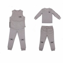 Fashion skull wholesale china kids clothes set manufacturer kids clothes for sale