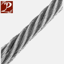 High quality 6x19 bright steel wire rope