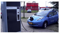 EV(Electric Vehicle) DC fast charging station