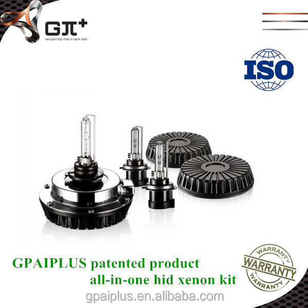 hot sale! GPAIPLUS high quality patented product 35w bulbs and ballast for hid xenon light