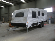 Caravan RV van trailer