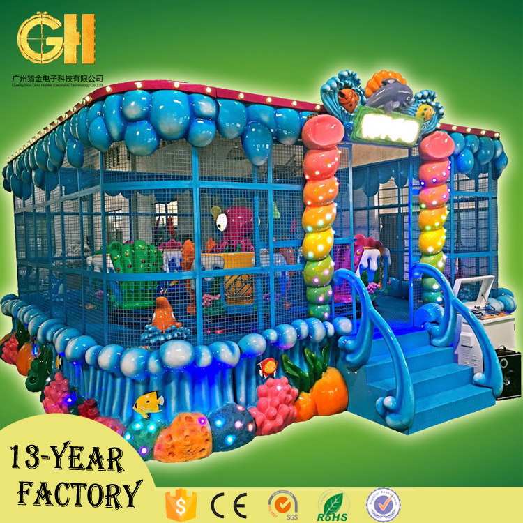Gold hunter kids and adults throwing ball games amusement park items for sale
