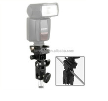 Umbrella Mount Bracket with Swivel Tilt Bracket for Nikon and Canon 430EX E580EX SB600 SB800 SB900