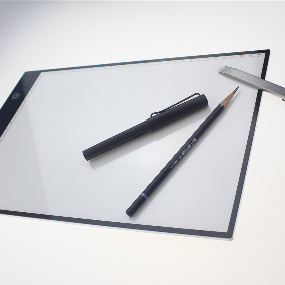 high quality animation trace minisun light pad flashing a4 led drawing board