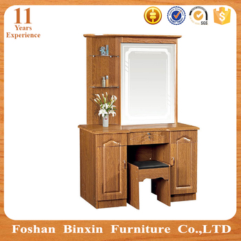 Modern Mdf Wooden Furniture Lowes Prices Dressing Table With Mirror