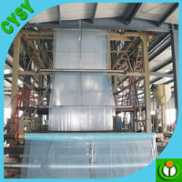 Clear Agricultural Greenhouses Uv Protective Plastic