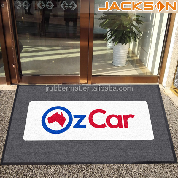 Jackson Cut Pile Custom Printed Door Mats for Entrance