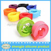2014 Fashion silicone belt/sports silicone belt/silicone belt with plastic buckle