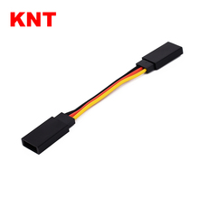 KNT 7cm-200cm RC Servo Lead Extension Cable Wire For Futaba JR
