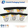 Customized transparent bottom stand up packaging bag for dry fruit