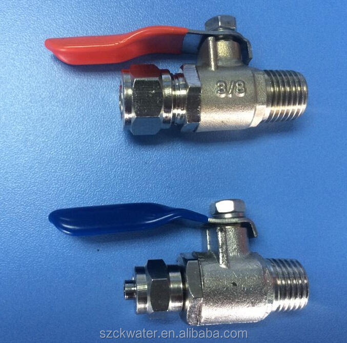 feed water ball valves,3/8