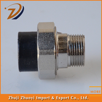 forged hdpe pipe joint copper Socket fusion male theaded water pipe