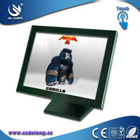 Short Lead Time 15 Inch Fanless LCD Industrial Touch Panel Computer With All In One Aluminum Industrial Computer Cases
