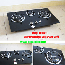 High Quality 3 Burner Built in Gas Stove (RD-BI041)