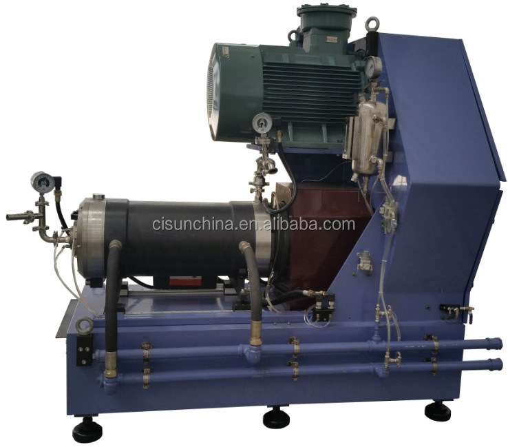 Horizontal Sand Mill,Nano grinding machine