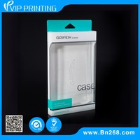 Custom made clear transparent plastic packaging box