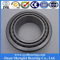 chrome and stainless steel single row and double row pressed steel and brass cage inch taper roller bearing 30214