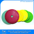 Stone Honey Comb Polishing Discs for hand held grinder with full range of grits