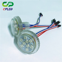 factory wholesale hight quality diameter led 9leds 5050 Digital Programmable 35mm LED RGB PIXEL