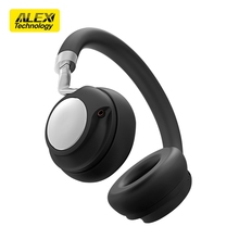 Shenzhen OEM custom blutooth 4.2 on ear headband wireless headphone with 3.5mm jack noise cancelling stereo headset for tv