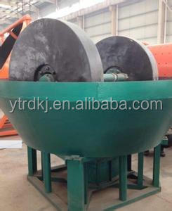 wet grinding pan mill for gold separation in Sudan