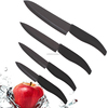Home Collections 4pcs Black Blade Ceramic