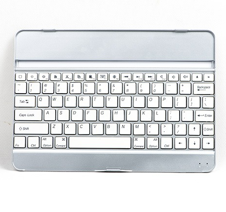 Ultra-thin Aluminum wireless keyboard Bluetooth Keyboard Cover Case For iPad Air / ipad air 2