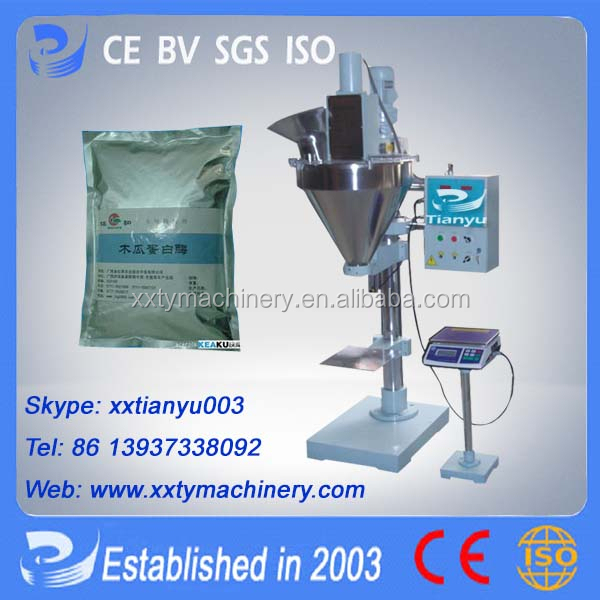 Tianyu Lcs small scale protein powder packaging machine overseas service available