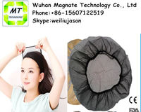 stretch disposable nylon mesh hair nets with elastic edge