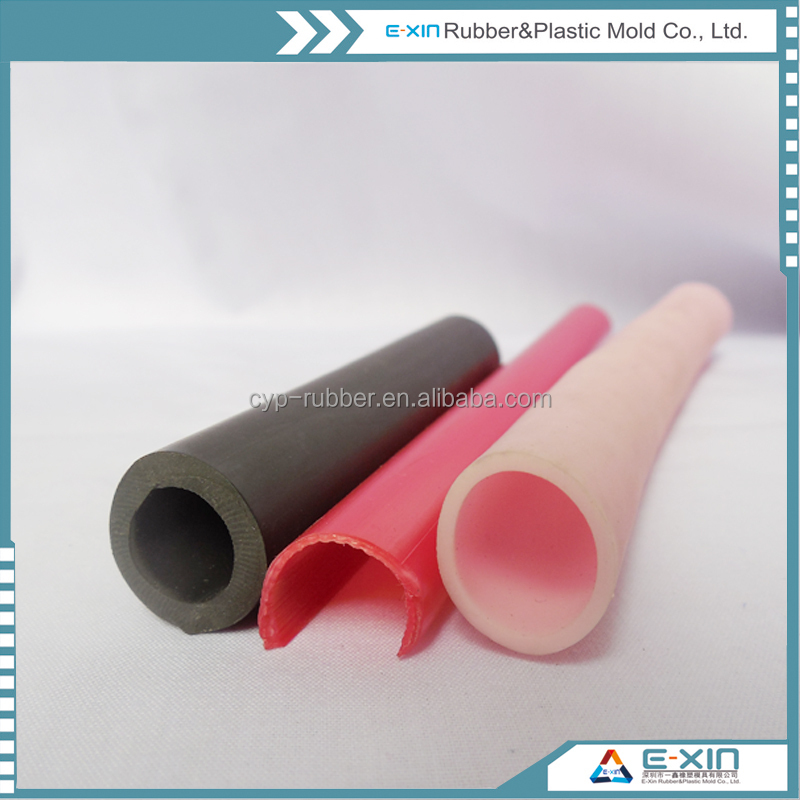 Soft Flexible PVC Profiles Rubber Seals / Extrusion Profiles Plastic Pipe Silicone Tube/Rubber Seal for Doors