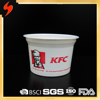 Free sample cheap Printed Plastic 420ml Disposable Soup Bowl