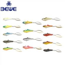 China Artificial Plastic Jig Ice Fishing Lure Bait