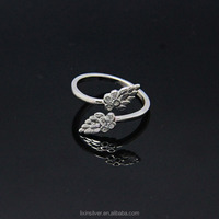 LIXIN open ring, adjustable ring, micro pave ring (HX10-01IF)