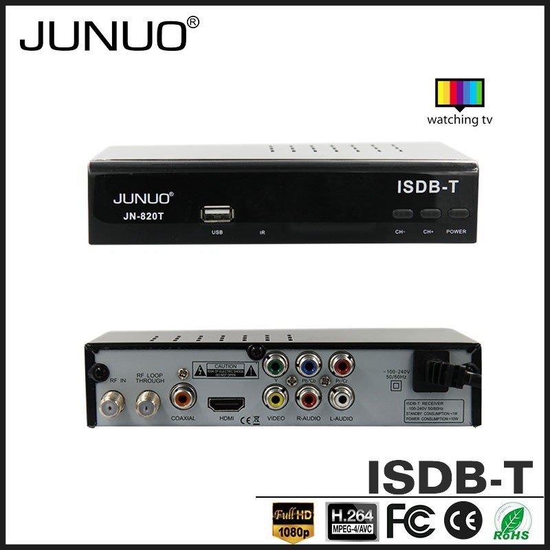 2016 Factory Wholesales Good Quality Digital tv Converter Set Top Box ISDB-T Finder TV Receiver