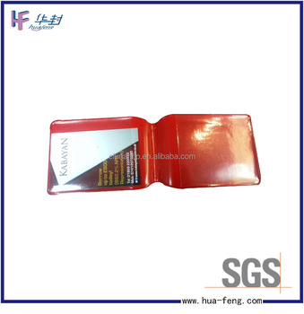 New fashion Card wallet plastic card wallet