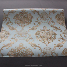 luxury Damask pattern hd 3d wallpapers picture for modern house interior decor
