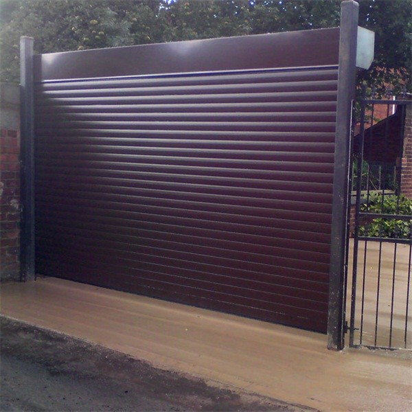 High Quality China Steel Rolling Door With Pu Foam