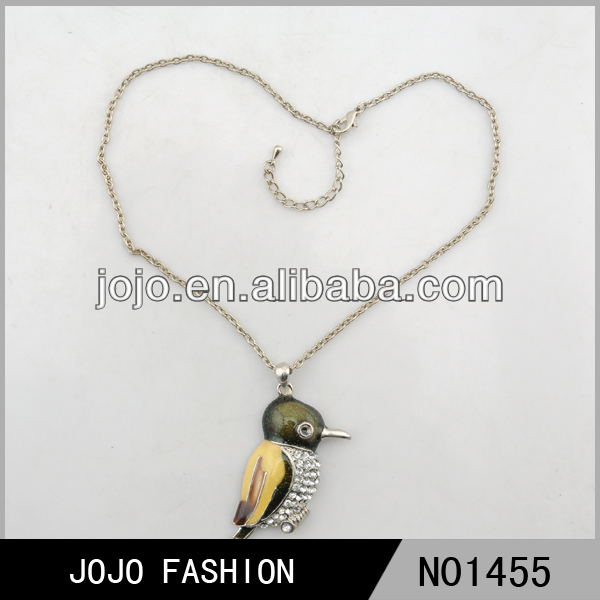 Fashion animal and woman sex bird necklace pendant