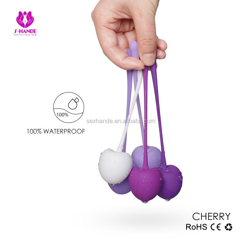Intimate Kegel Exercise Weighted Bladder Control & Pelvic Floor Exercises - Set of 5 Premium Silicone Sphere Tighten & Tense