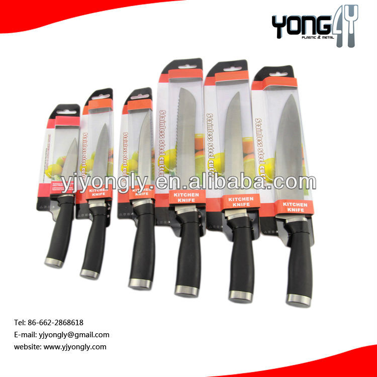 hot sell 5pcs stainless steel Knives