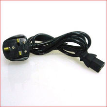 H05VV-F 3G 0.75 AC power cord british uk power cord plug