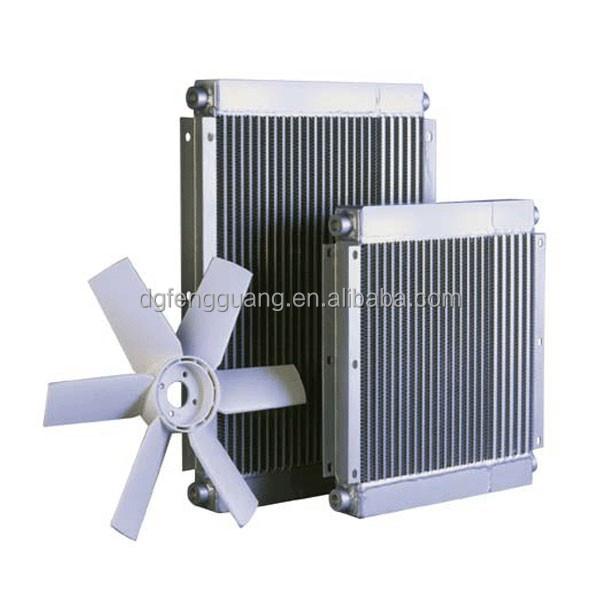 Air Compressor Cooler : Compressor cooler fan aluminium oil air